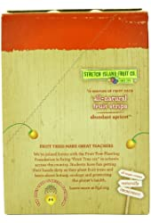 Stretch Island Original Fruit Leather, Apricot, 0.5-Ounce Bars (Pack of 30)