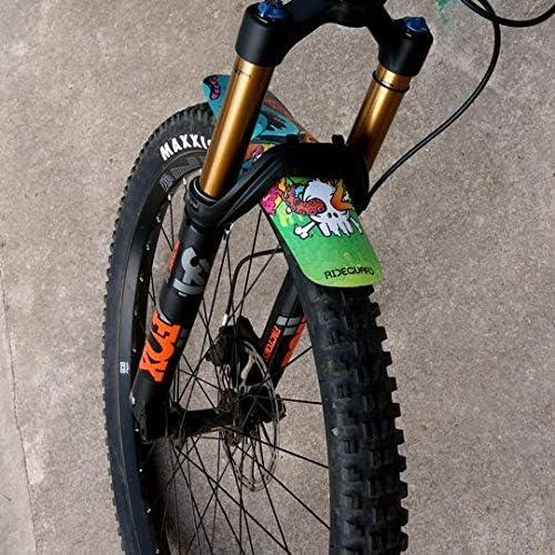 Rideguard Guardabarros de Bicicleta de montaña MTB XL Guardabarros ...