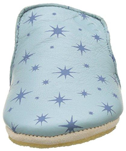Easy Peasy Unisex Baby Blublu Cosmos Krabbel-& Hausschuhe Mehrfarbig (mist/Denim)