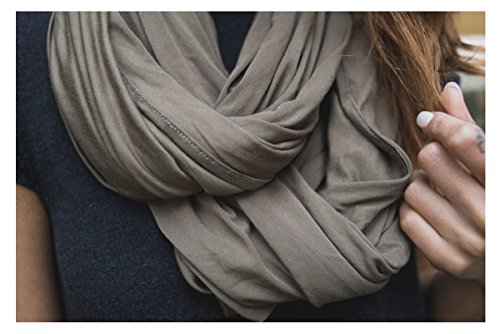 Softest Bamboo Chic Nursing Infinity Scarf for Stealth 360 B