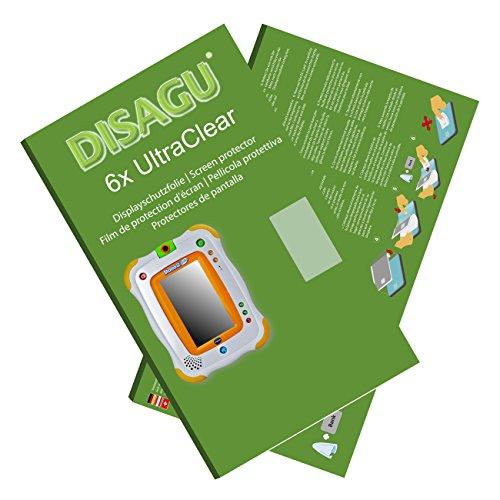 6x Ultra Clear Screen Protector for Vtech Storio 2 (Storio 2)
