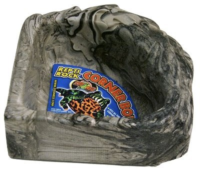 Zoo Med Reptile Rock Corner Water Dish, (Zoo Med Reptile Food)