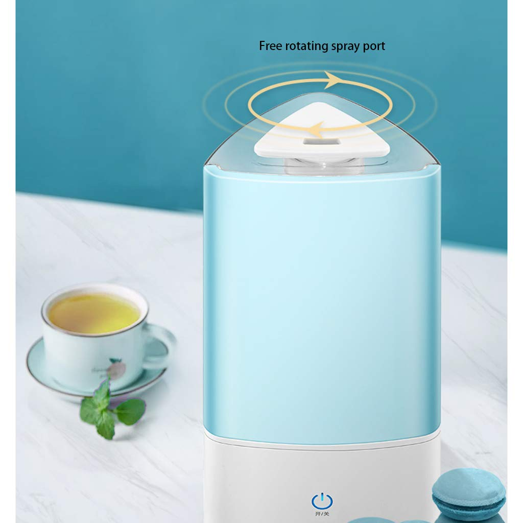 Red cloud Ultrasonic Cool Mist Humidifier - Premium Humidifying Unit with 3L Water Tank,Transparent Water Tank, Automatic Shut-Off and Night Light Function - Lasts Up to 15 Hours by Red cloud (Image #4)