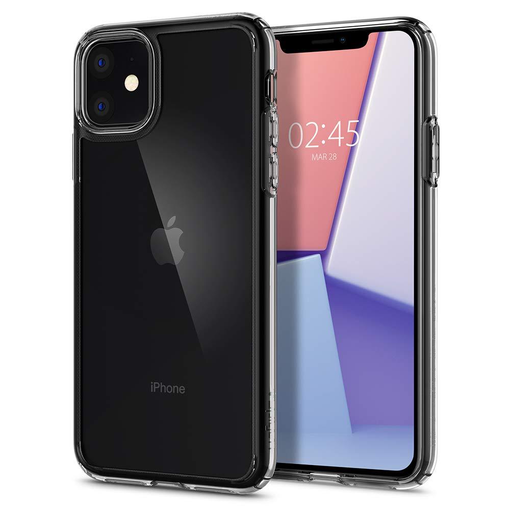 Funda Para iPhone 11 Spigen Ultra Hybrid Crystal Clear