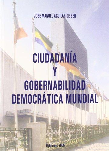 Ciudadanía Y Gobernabilidad Democrática  [Manuel Aguilar De Ben, José] (Tapa Blanda)