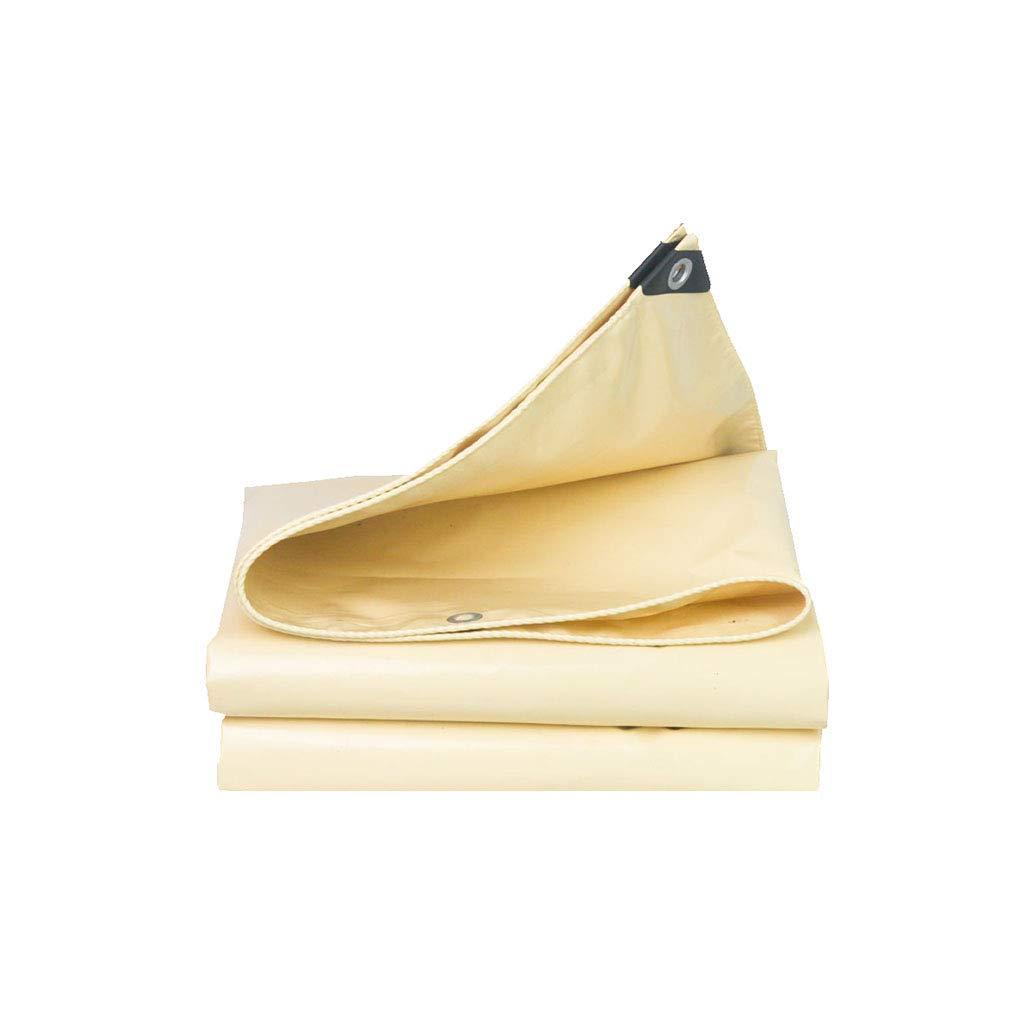 Love Home Plane Sonnencreme Sonnenschutz Outdoor Auto Messer Kratztuch Wasserdichte Sonnencreme DREI Anti-Tuch Beige 1,5-6m (größe   4  4m)