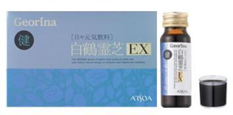 ARSOA(アルソア) ジオリナ 白鶴霊芝EX/レギュラー50mlx10本 B00YGKY7DQ