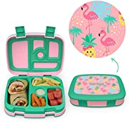 Bentgo Kids Prints - Leak-Proof, 5-Compartment Bento-Style Kids Lunch Box - Ideal Portion Sizes for Ages 3 to
