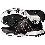 adidas Powerband Boa Boost Golf Shoes,Core Black/White,10.5 M US