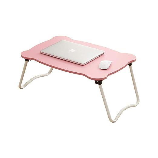 WZF Laptop Cama Mesa Escritorio Plegable Bandeja para portátil ...