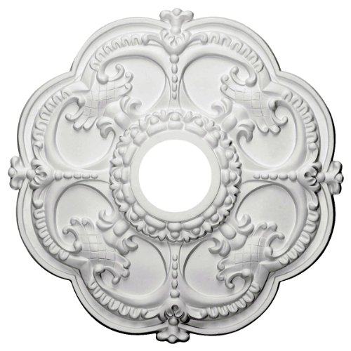 Price comparison product image Ekena Millwork CM17RO 18-Inch OD x 3 1 / 2-Inch ID x 1 1 / 2-Inch Rotherham Ceiling Medallion