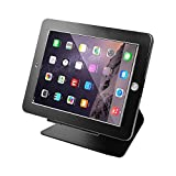 Smonet iPad Desktop Anti-Theft Security POS Stand Holder Enclosure with Lock and Key for Tablets iPad 2,3,4 and iPad air, iPad air 2, iPad Pro 9.7'', 360 Degree Rotating (Black)