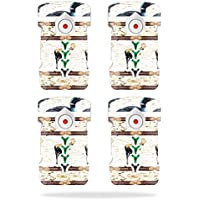 Skin For DJI Inspire 1 Drone Battery (4 pack) – Lodge Stripes | MightySkins Protective, Durable, and Unique Vinyl Decal wrap cover | Easy To Apply, Remove, and Change Styles | Made in the USA