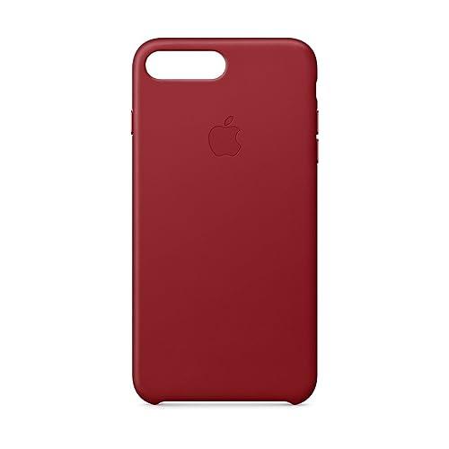 Apple Funda Leather Case para el iPhone 8 Plus iPhone 7 Plus PRODUCT RED