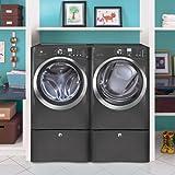 Electrolux TITANIUM Steam Front Load ELECTRIC Laundry Set W/Pedestals EWFLS60LT-EIMED60LT-EPWD15T (PLUS bonus Laundry Kit) offers
