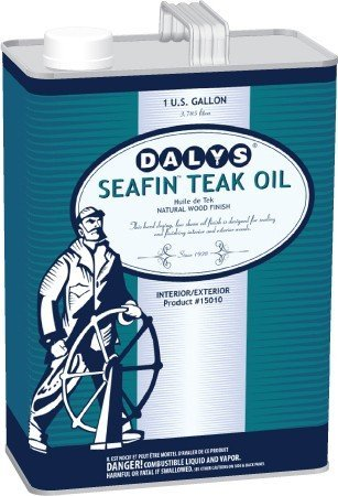 SeafinTM Teak Oil, 1 Quart by DALY'S WOOD FINISHING PRODUCTS