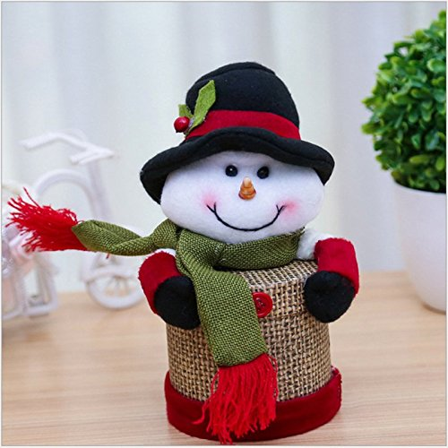 Amazon.com : Weimay Christmas Candy Jar Plastic Christmas Sugar Container Organizer Gift Box Ornaments(Old Man 2) : Baby