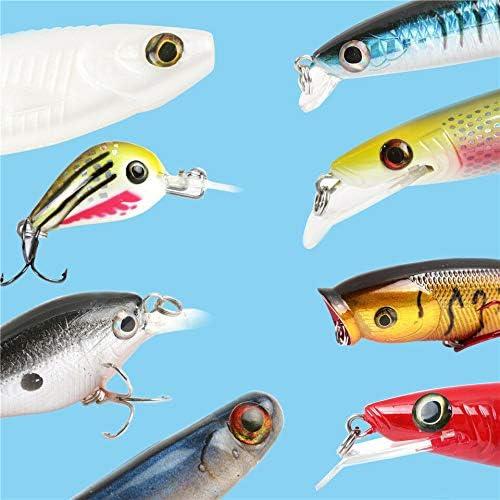 3mm-15mm 8 Gr/ö/ße Fliegenbinden Material 4D Fischaugen 4D Lure Eyes MAXIMUMCATCH Fischk/öder 4 Farbe pro Packung