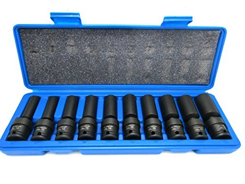 Pro Socket Set Drive (10Pc 3/8