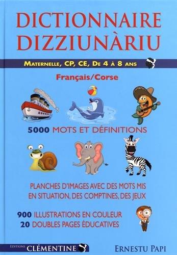 Livre Telecharger Dictionnaire Illustre Francais Corse