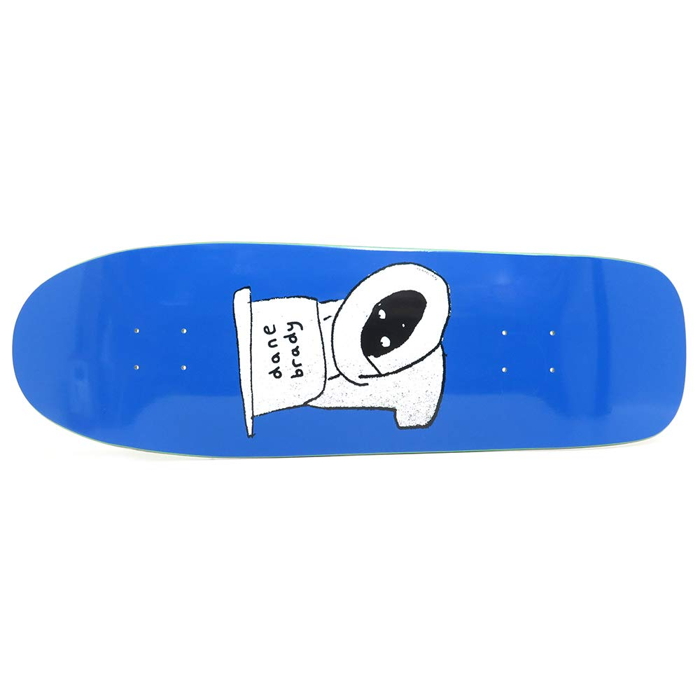 POLAR DECK B07K9LWF5M ポーラー デッキ SKATEBOARD DANE BRADY BRADY TOILET BLUE DANE1 SHAPE 9.75 スケートボード スケボー SKATEBOARD B07K9LWF5M, コロモガワムラ:031eab43 --- grupocmq.com