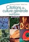 Citations de culture générale expliquées par Guédon