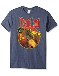 FEA Mens Meatloaf Bat Out of Hell T-Shirt