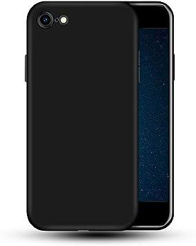 vbest Coque en silicone pour iPhone 8 iPhone se 2020 Coque en silicone pour iPhone 7 Coque en silicone liquide souple en caoutchouc de silicone souple ...