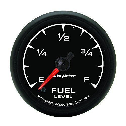 Auto Meter 5910 ES 2-1/16'' Universal Stepper Full Sweep Electric Fuel Level Programmable Empty - Full Range Gauge by Auto Meter
