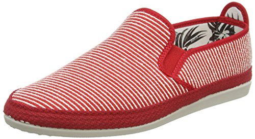 Gris Flossy red 001 Homme red Brieva Espadrilles xwYTtrw