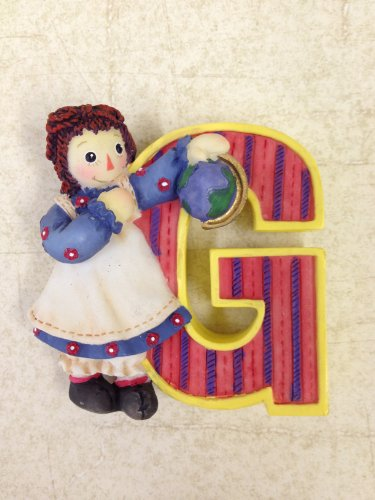 Raggedy Ann & Andy Collectible Letter