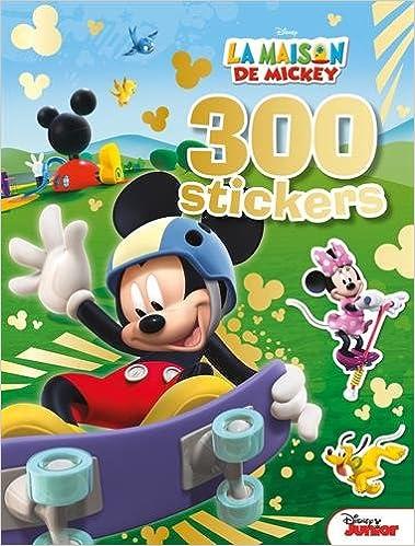 La Maison De Mickey 300 Stickers Amazon Fr Disney Junior Livres