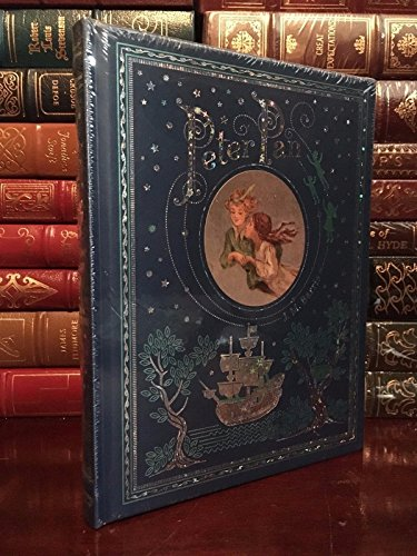 Peter Pan by J. M. Barrie Leather Bound Illustrated Collectible ()