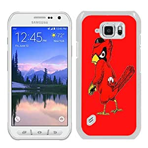 High Quality Samsung Galaxy S6 Active Skin Case ,st louis cardinals logo White Samsung Galaxy S6 Active Screen Cover Case Popular And Unique Custom Designed Phone Case