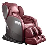 Ogawa Active SuperTrac Massage Chair, Cherry, Red