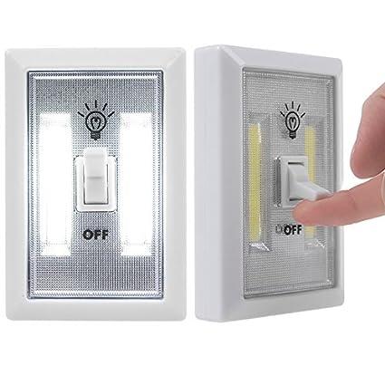 Zantec yiwa batteriebetriebene Niños Luz Nocturna Indoor Outdoor Home Lámpara de iluminación para Armario estantería de