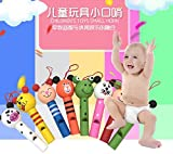7.5cm small animals mixed wooden Lip Whistles Pinata Kids Birthday Decoration Party christmas party toy Supplies Gift Toys 8PCS