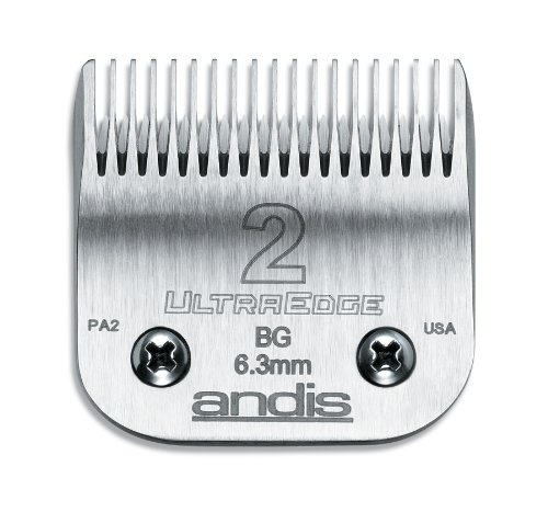 Ultraedge Blades (Andis Carbon Infused Steel UltraEdge Clipper Blade, Size-2, 1/4-Inch Cut Length (64078))