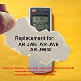 Replacement for FRIEDRICH Air Conditioner Remote Control Model Number: AR-JW5 AR-JW6 AR-JW30 (Display in Celsius but it also can work for Fahrenheit display AC)