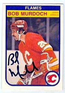 Autograph 123731 Calgary Flames 1982 O Pee Chee No. 53 Bob Murdoch Autographed Hockey Card