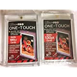 10 Ultra Pro 130pt and 180pt (5 of Each Size) One Touch Magnetic Holders for Thicker Jersey and Memorabilia Cards
