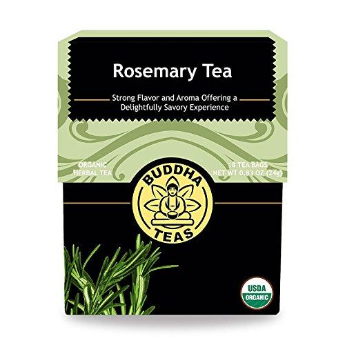 Organic Rosemary Tea Caffeine GMO Free