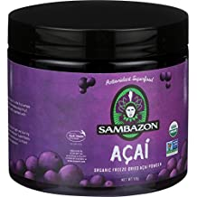 Sambazon Pure Acai Powder - Power Scoop - Anti Oxidant Superfood - 90 g