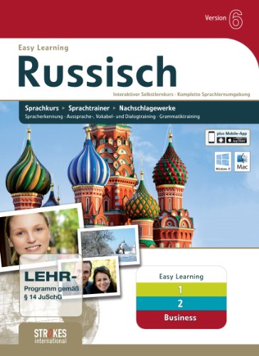 Strokes Easy Learning Russisch 1+2+Business Version 6.0