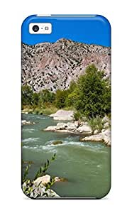 Iphone 5c Case Slim [ultra Fit] Earth Landscape Protective Case Cover