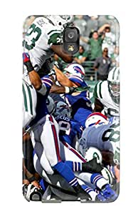 Premium New York Jets Uffaloills Back Cover Snap On Case For Galaxy Note 3