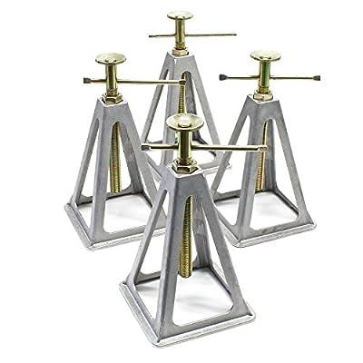 Aluminium Stützböcke für Wohnwagen und Anhänger 4 Stück Stützbock