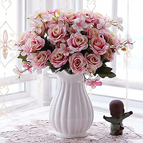 Amazon Emulation Flower Flowers Roses In The Living Room And A