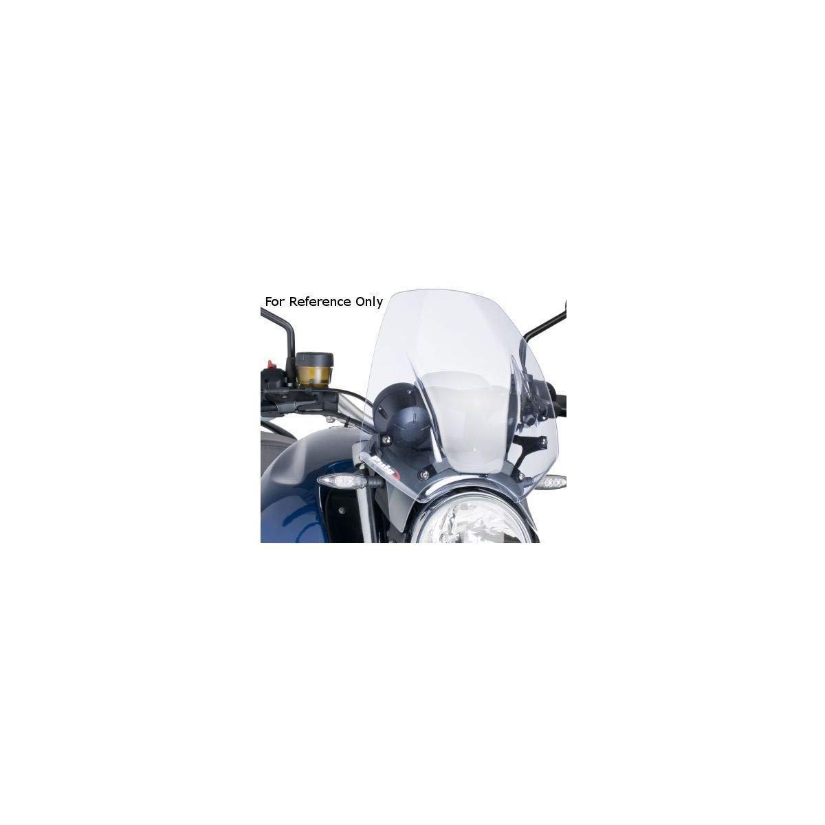 media Puig 5587 ore da parabrezza per MV Agusta Brutale 2005-2009//Brutale 920 2012//Brutale 1090 RR 2010-2014 fumo