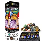 Rough Gemstone Refill Kit for Rock Tumbler by National Geographic